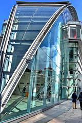 little london (Harry Halibut) Tags: street reflection building london art public glass contemporary images victoria allrightsreserved londonbuildings londonarchitecture imagesoflondon colourbysoftwarelaziness publicartinlondon 2016andrewpettigrew london1604271241