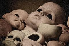 Dolls (Renato Morselli) Tags: toys dolls occhi crepe bambole giocattoli occhineri screpolature
