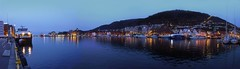 Bergen - Blue hour (fb81) Tags: world panorama heritage norway port norge bluehour bergen bryggen hordaland hanseatic byfjorden