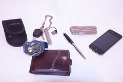 EDC (@GarciaH) Tags: chile leatherman losangeles key wallet watch flashlight edc everydaycarry multitool iphone