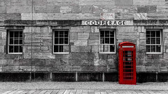 The Cooperage, Royal William Yard (Rich Walker75) Tags: uk england building architecture buildings plymouth devon phonebox selectivecolour royalwilliamyard