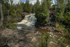 Minnesota Waterfall (Tom Mortenson) Tags: usa nature minnesota digital america canon spring midwest scenic greatlakes northshore cascades northamerica canoneos lakesuperior hdr northwoods northernminnesota gooseberryfalls flowingwater photomatix 24105l tonemapping minnesotastatepark twoharborsminnesota gooseberryriver greatlakesregion canon6d uppergooseberryfalls minnesotawaterfall minnesotawaterfalls minnesotapark lakesuperiorregion silvercreektownship