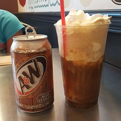 Now this is a root beer float!