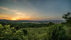 Mdling vom Eichkogel (Nic Pigsa) Tags: vienna wien sunset landscape dusk niedersterreich mdling eichkogel