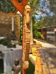MADERA TALLADA A MANO (TROSSET LANDSCAPE MORAIRA) Tags: bali madera mano tallada