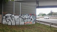 Fart Nugget (.voyageur.) Tags: vienna wien graffiti austria sterreich highway autobahn diss ocb