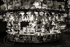 London Nov 2015 (7) 033 - Winter Wonderland in Hyde Park (Mark Schofield @ JB Schofield) Tags: park christmas street city winter england white black london monochrome canon fairground carousel hyde oxford rides nightlife wonderland stalls 5dmk3