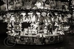 London Nov 2015 (7) 033 - Winter Wonderland in Hyde Park (Mark Schofield @ JB Schofield) Tags: park christmas street city winter england white black london monochrome canon fairground carousel hyde oxford rides nightlife wonderland stalls 5dmk3
