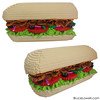 "LEGO Subway Sandwich Meal • <a style=""font-size:0.8em;"" href=""http://www.flickr.com/photos/44124306864@N01/27613524760/"" target=""_blank"">View on Flickr</a>"