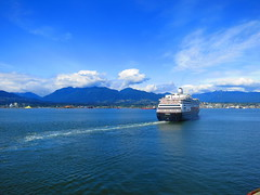 IMG_2669 (sevargmt) Tags: vancouver british colombia bc canada cruise ncl norwegian pearl may 2016 downtown place holland america volendam ship
