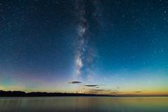 Meteor in Namtso (Kelvinn Poon) Tags: night star tibet namtso meteor milkyway      nagqu  lakenam nyenchentanglhamountain