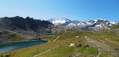 Colle del Nivolet  2612 m. (Fass81) Tags: nivolet lake italy italia ceresolereale alps alpi sky water granparadiso europe