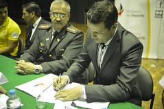 Firma convenio de cooperacin interinstitucional con la Universidad de las Fuerzas Armadas - ESPE (Ministerio Deporte Ecuador.) Tags: ecuador espe pichincha convenio sangolqu ministeriodeldeporte xavierendericasalgado