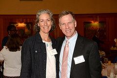 2016 Local Heroes Laura Fleming with PCF Board Member Peter McAniff