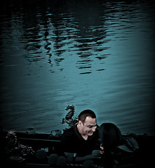 Love boat (mickrobi) Tags: love marridge gondola water couple proposal