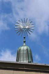 Starburst (jmaxtours) Tags: silver hexagram starofdavid starburst 1926 exhibitionplace governmentofontariobuilding