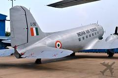 IJ-302, Indian Air Force, Douglas, C-47D, Skytrain (Shivendra Shukla) Tags: douglas skytrain indianairforce c47d ij302