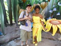 "Iridessa (Charles ""The Disney Genius"" Brown) Tags: peterpan disneyfairies tinkerbell iridessa anaheim california pixiehollow fantasyland charlesbrown disneyland"