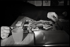 28th of March 2016 (Paul of Congleton) Tags: blackandwhite playing game kitchen monochrome digital table march frozen sony diary keith monopoly boardgame 2016 myeverydaylife rx100 unclekeefy