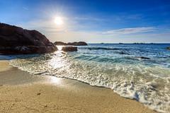 Đảo An Bình - Lý Sơn (Nguyễn Đình Thành) Tags: longexposure sunset sea mountain water sunrise rocks asia seascapes cloudy vietnam filter asean quangngai lyson singhray thachkydieutau