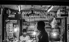 Dhaka, 2016. (rahat_kabeer) Tags: dhaka bangladesh street night random click everything canon eos canon6d 2016 50mm bnw monochrome