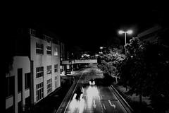 later in the evening 2 (RadarOReilly) Tags: strase street strasenfotografie streetphotography sw schwarzweis bw blackwhite monochrome iserlohn nrw germany nacht night