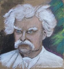 An Evening with Mark Twain (Matthias Talmeier) Tags: marktwain portrait acrylic acryl