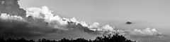 Beyond The Clouds (Gerarangel1970) Tags: sky water travel clouds cloudscapes rain summer blackandwhite horizon dark panorama weather outdoors texas texasbackroads cell texasnature texasphotography texaspride sipercell gulfofmexico gulf coast thunderstorm