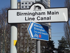 BCN Main Line Canal - Wolverhampton - BCN and NCN signs (ell brown) Tags: greatbritain trees england signs tree sign canal birmingham unitedkingdom bcn westmidlands wolverhampton nationalcyclenetwork blackcountry ncn victoriahall britishwaterways ncn81 broadstreetbridge birminghamcanalnavigations bcnmainline aldersey birminghamcanalnavigationsmainline broadstreetbasin canalrivertrust ringroadstdavids wednesfieldrd
