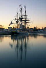 L'hermione (ani-s) Tags: sunset la nikon lafayette bateau charente hermione rochelle d90