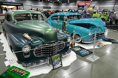 1948 1952 chevrolet (bballchico) Tags: 1948 chevrolet custom fleetline 1952 fastback kustom portlandroadstershow davespear 2007halloffame sandyspear