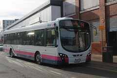 First Leicester - WX59 BZF (BigbusDutz) Tags: urban eclipse leicester first wright bzf wx59