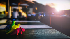Dinosaur Sunset (WelshPixie) Tags: