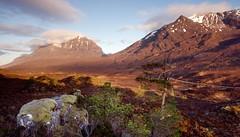 Sunrise on Glen Torridon (vathiman) Tags: sunrise scotland highlands glen torridon liathach beinneighe