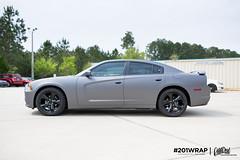 Dodge Charge Matte Dark Gray
