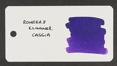 Rohrer & Klingner Cassia - Word Card