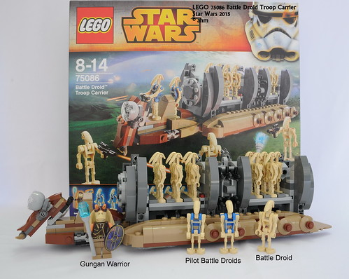 Star Wars LEGO 75086 Battle Droid Troop Carrier - a photo on Flickriver