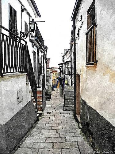 San Giovanni Rotondo Il borgo Antico , Tehe Ancient Village
