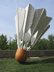 (brentsaltzman) Tags: kansascity shuttlecock nelsonatkinsmuseumofart