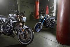 Yamaha MT-09 vs Suzuki GSR-750 (Extreme Ben) Tags: bike bag naked fight fighter grunge battle gritty ring motorbike motorcycle yamaha match punching suzuki punch boxing heavyweight streetfighter bout 750 gsr mt09 gsr750