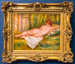 Reclining Nude Seen From Behind by Pierre Auguste Renoir, 1909 (Serendigity) Tags: paris france art museum painting nude gallery musedorsay