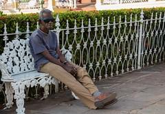 Bench time - part 1 (Marija Vujosevic) Tags: park parque people bench faces gente cuba banco kuba