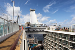 Deck 16 (Fionn Luk) Tags: trip travel cruise vacation canon landscape boat ship view royal scene adventure explore 5d caribbean royalcaribbean footprint seas luk fionn fionnluk diaryallure