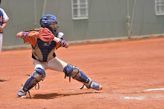 _DSC1239 (Manjhou) Tags: up sport set nikon baseball sigma kaohsiung pitcher position batter 70200mm   pickoff   tainwan          d7200