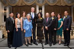 Mayor Bill de Blasio speaks at a gala for the Asian American Federation at the Pierre Hotel in Manhattan (nycmayorsoffice) Tags: usa ny newyork asian culture nightlife gala