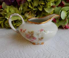 Vintage Limoges Porcelain Creamer ~ Roses ~ Gold Gilt (Donna's Collectables) Tags: roses vintage gold porcelain creamer ~ gilt limoges