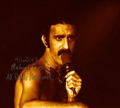 Michael Conen - [PROOF] Frank Zappa closeup with mic no 2 [Frank Zappa - Louisville Gardens, Louisville KY 11-10-77] (michael conen) Tags: kentucky louisville canonae1 1977 allrightsreserved frankzappa louisvillegardens michaelconen copyright2013