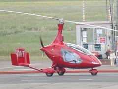 G-CIMT Gyroplane (Aircaft @ Gloucestershire Airport By James) Tags: james airport gloucestershire lloyds gyroplane egbj gcimt