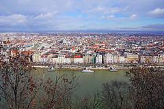 Wonderful sky over Budapest (Andrey Sulitskiy) Tags: hungary budapest danube
