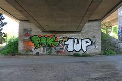 POK 1UP (Jrgo) Tags: streetart frankfurt 1up frankfurtammain pok ffm streetartfrankfurt streetartgermany streetartffm graffitiffm